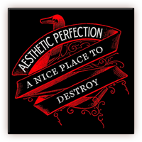 Aesthetic Perfection - A Nice Place To Destroy Ltd Ed EU CD Maxi Single