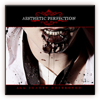 Aesthetic Perfection All Beauty Destroyed Cover Art Poster
