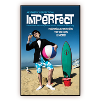 Aesthetic Perfection Imperfect Commemorative Cardstock Poster