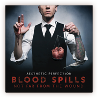Aesthetic Perfection - Blood Spills... CD