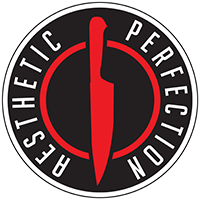 Aesthetic Perfection - Knife Logo - Pin